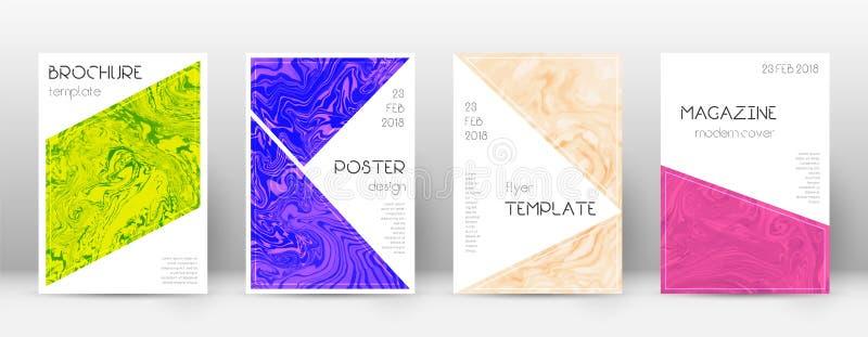 Abstrakte Abdeckung Erstaunliche Designschablone Suminaga vektor abbildung