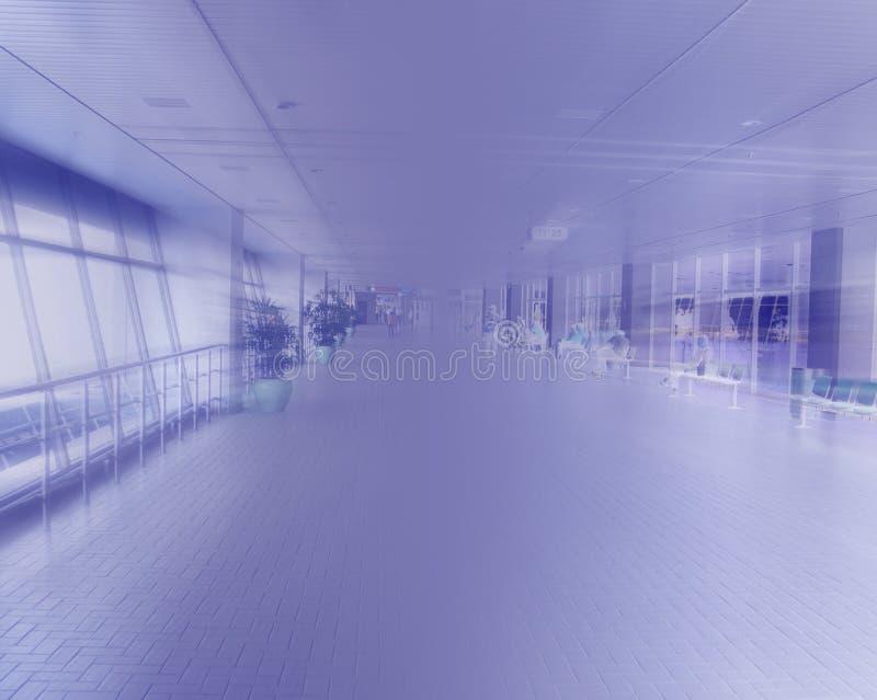 Abstrakte Ansicht des Platzes lizenzfreie stockfotografie