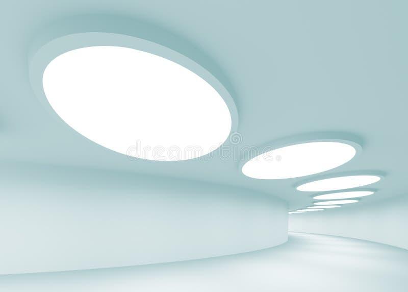 Abstrakte Architektur stock abbildung