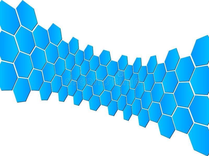 Abstrakte Auslegungschablone vektor abbildung