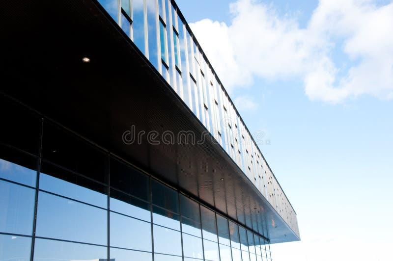 Abstrakte Bürohaus stockfotografie