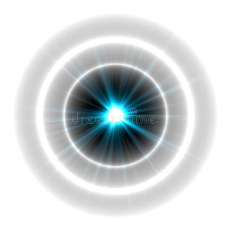 Abstrakte Beleuchtungshintergründe für Ihr Design lizenzfreie abbildung