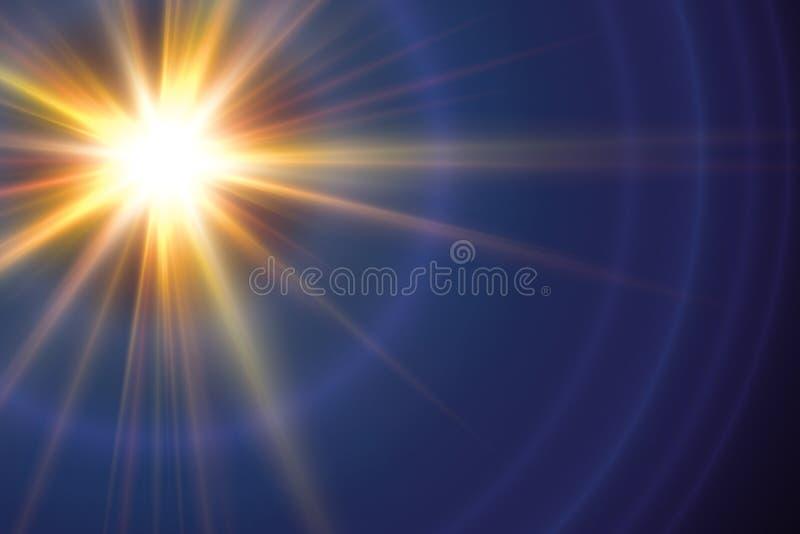Abstrakte Beleuchtungshintergründe für Ihr Design stock abbildung
