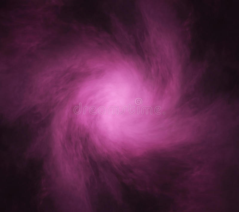 Abstrakte Beschaffenheit des purpurroten Rauches auf einem schwarzen Hintergrund stockfotos