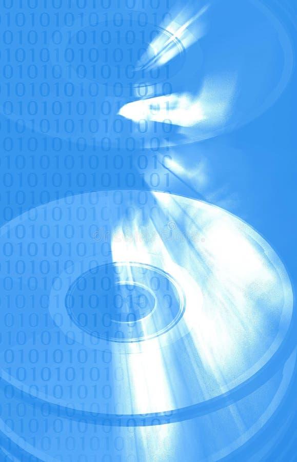 Abstrakte binäre Daten I lizenzfreie abbildung