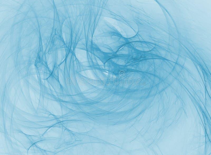 Abstrakte blaue Auslegung stock abbildung