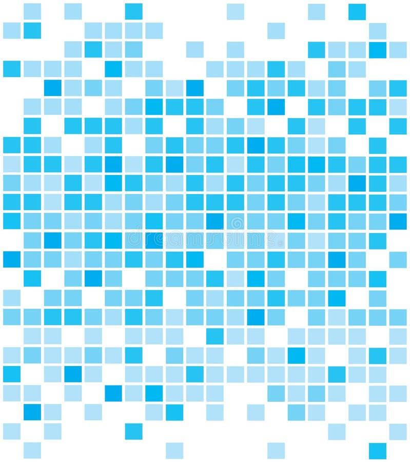 Abstrakte blaue Pixelhintergründe vektor abbildung