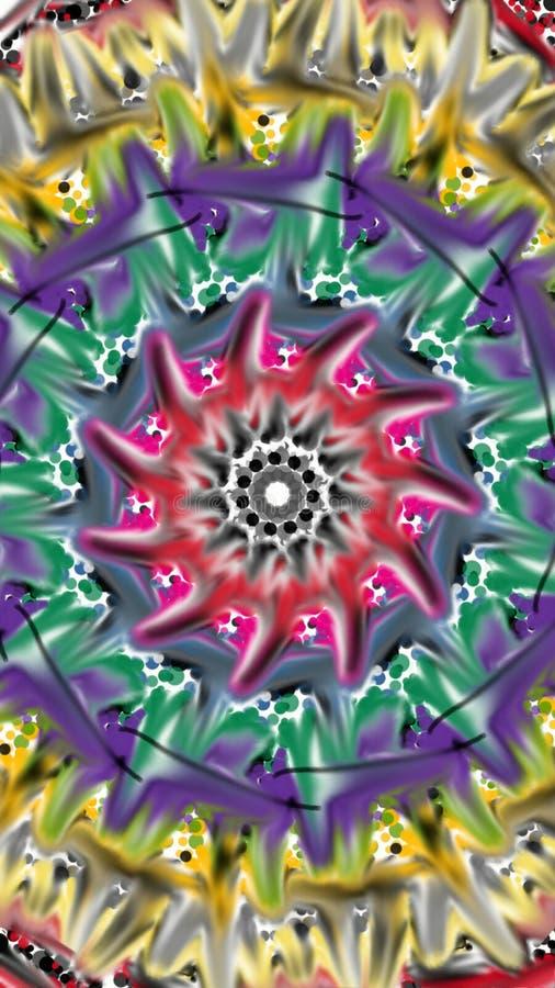 Abstrakte Blume lizenzfreie abbildung