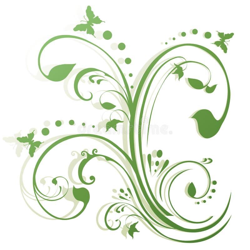 Download Abstrakte Blumenbasisrecheneinheits-Auslegung Vektor Abbildung - Illustration von graffiti, botanisch: 9094132