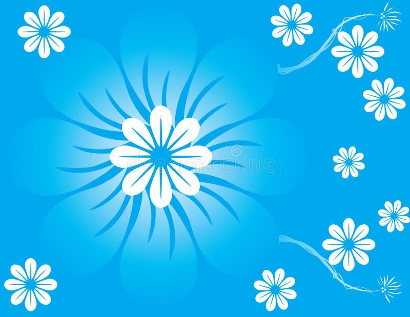 Abstrakte Blumenfrühlingsabbildung   stock abbildung