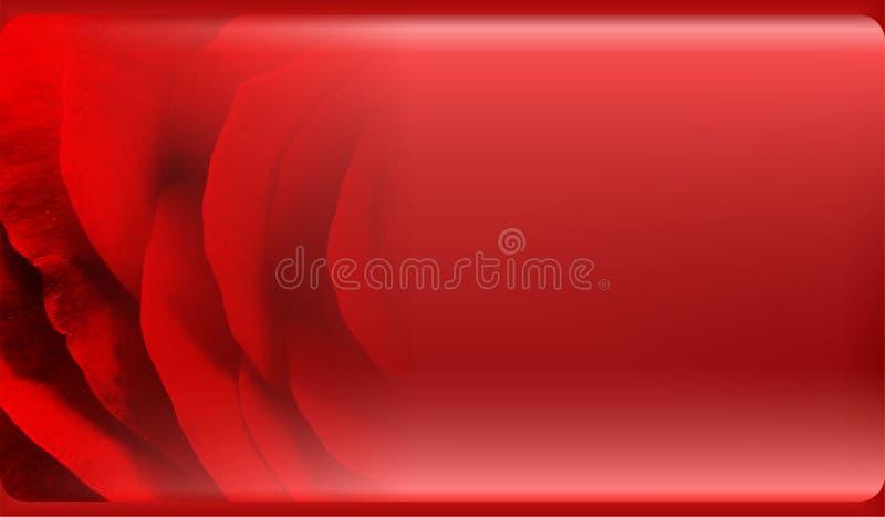 Abstrakte Blumenhintergrundschablone für Website, Fahne, Visitenkarte, Einladung Abstrakter Informationsgraphik-Schablonenentwurf lizenzfreie abbildung