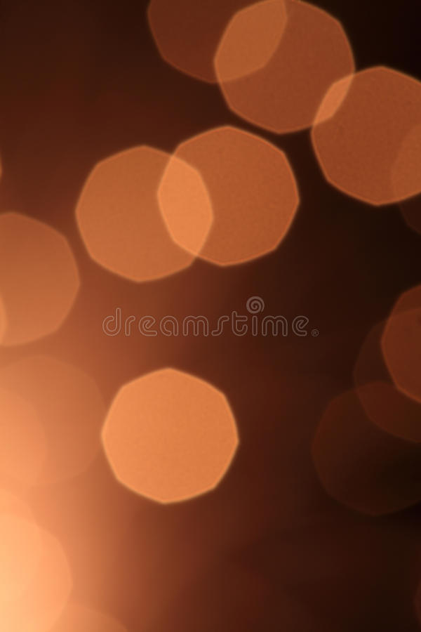 Abstrakte braune Leuchte stockfotografie
