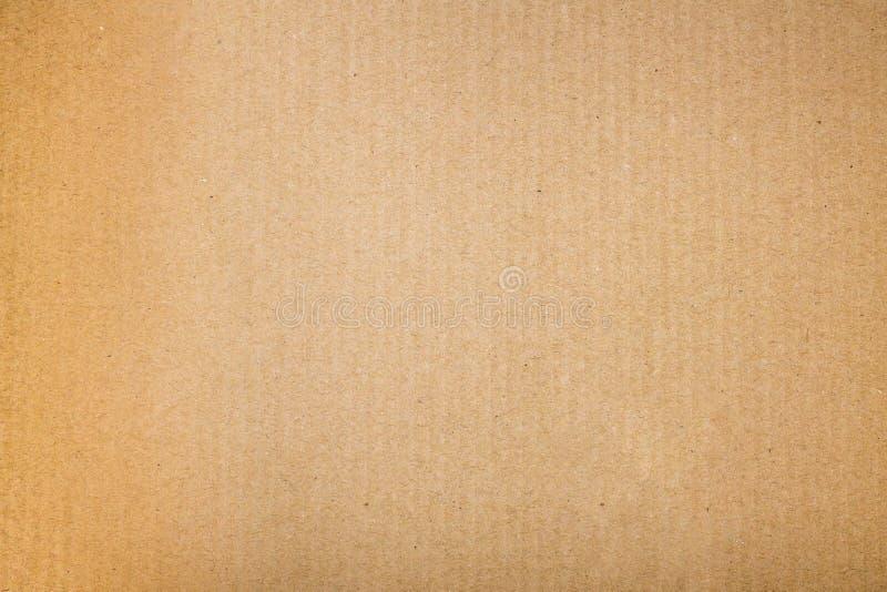 Abstrakte braune Pappe stockfotografie