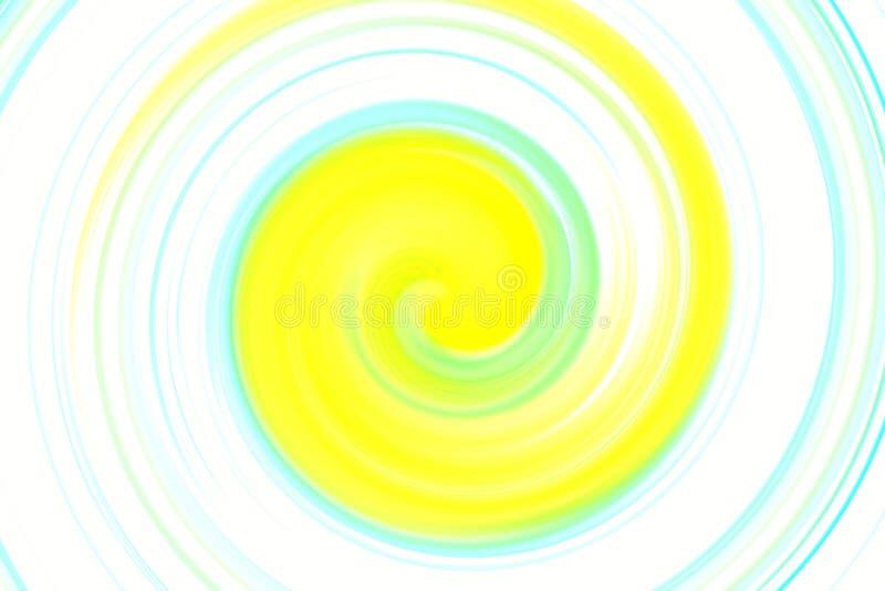 Abstrakte bunte Drehbeschleunigung stock abbildung