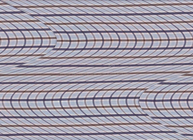 Abstrakte bunte Textilbeschaffenheit stock abbildung