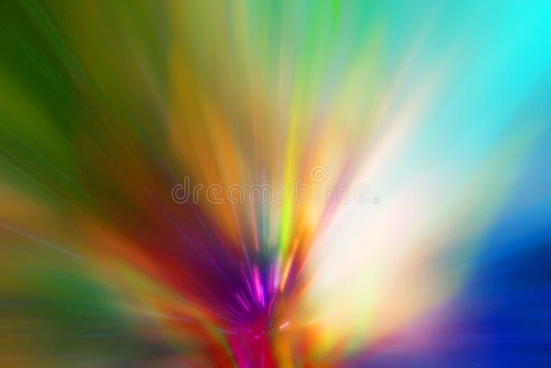 Abstrakte bunte Zeilen Hintergrund lizenzfreie abbildung