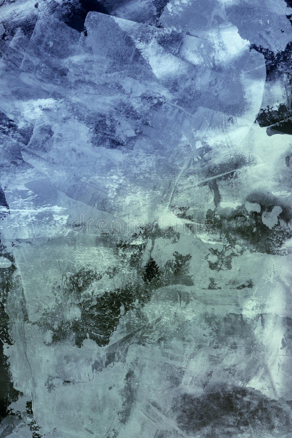 Abstrakte Collage stock abbildung