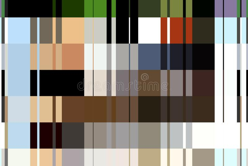Abstrakte digitale Kunst des Musters stockbild