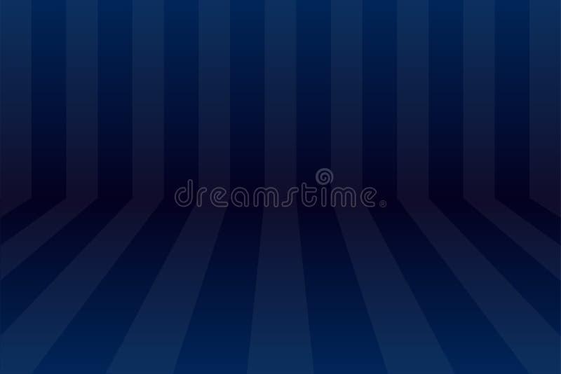Abstrakte dunkelblaue Raum conner Winkelhintergrund-Vektorillustration eps10 vektor abbildung