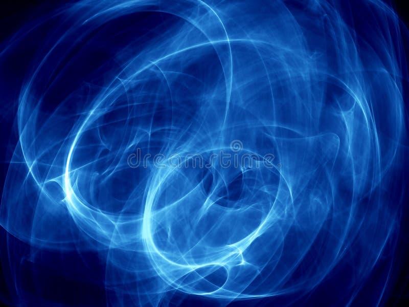 Abstrakte Energieanordnung stock abbildung