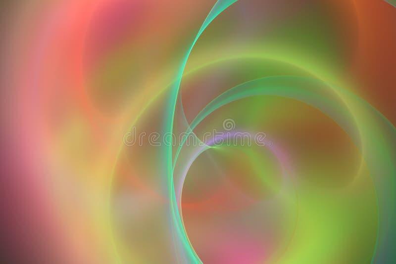 Abstrakte Fantasie von Träumen vektor abbildung