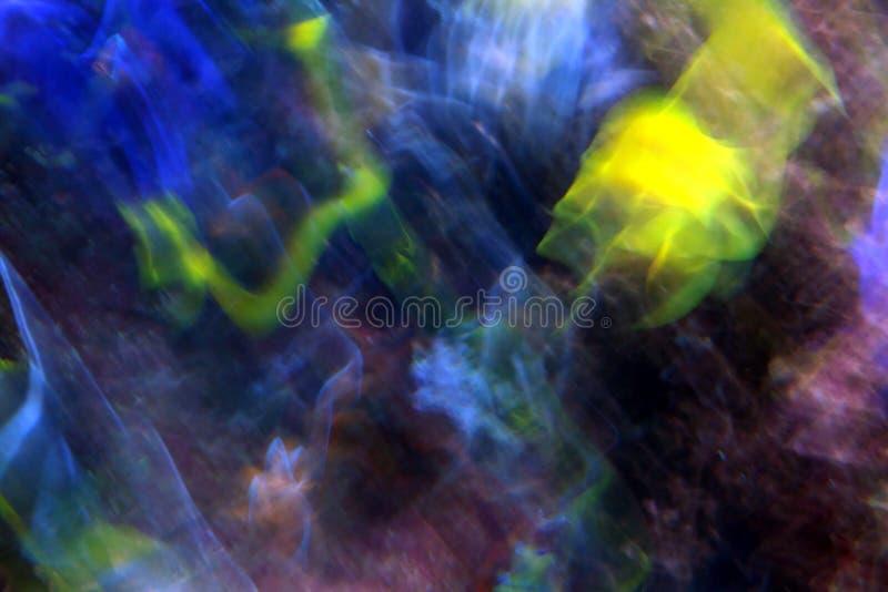 Abstrakte Farbe und Bewegungsunschärfe stockfotos