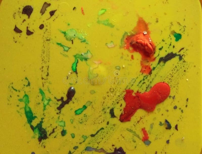 Abstrakte Farbenhintergrund-Wasserfarbe lizenzfreie stockfotografie