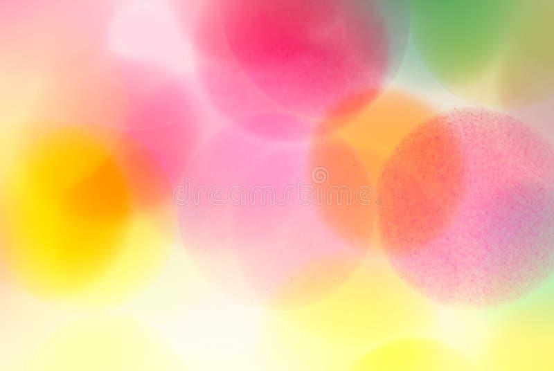 Abstrakte Farbenpunkte stockbild