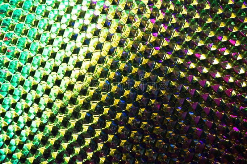 Abstrakte Farbglasbeschaffenheit stockfoto