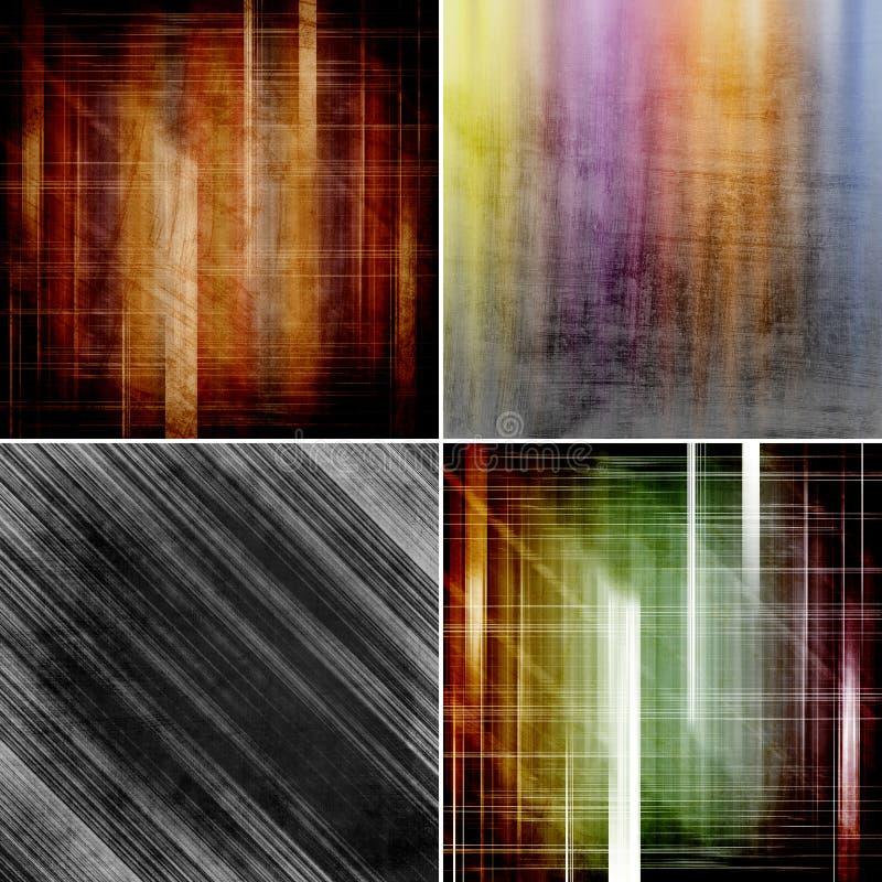Abstrakte Farbhintergründe vektor abbildung