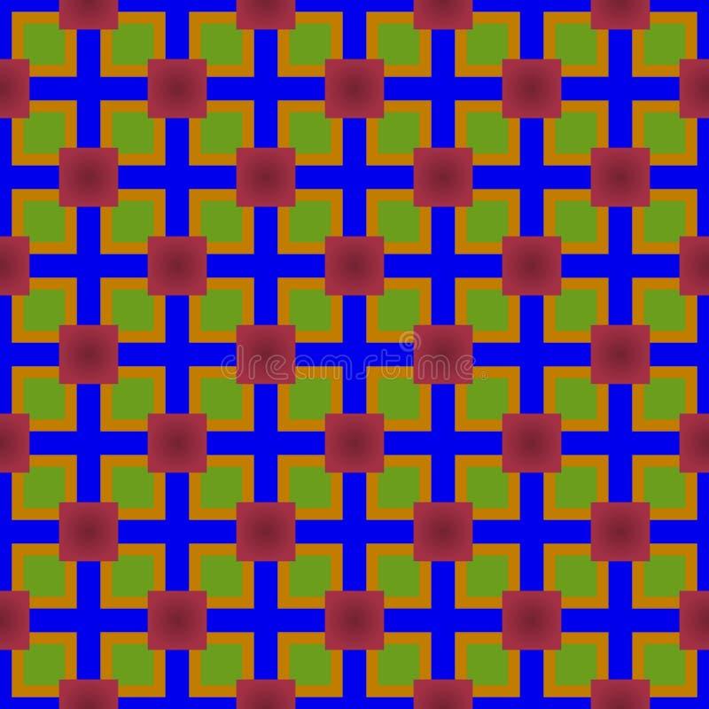 Abstrakte Farbnahtloses Muster stockbild