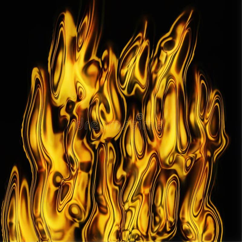Abstrakte Feuerbeschaffenheit lizenzfreie abbildung