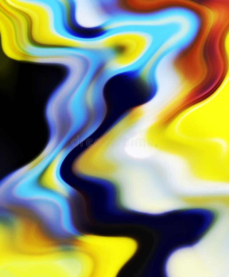 Abstrakte flüssige Schatten, Farben, schattiert abstrakte Grafiken Abstrakter Hintergrund und Beschaffenheit stockfotos