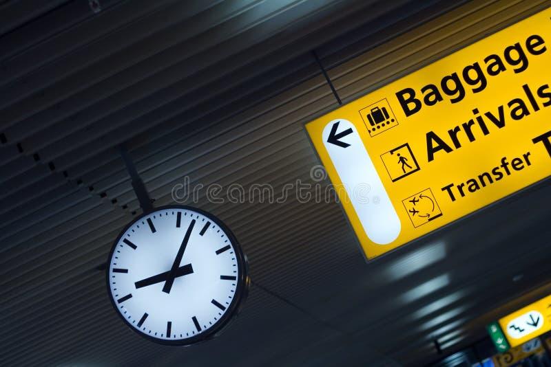 Abstrakte Flughafen-Sachen stockbilder