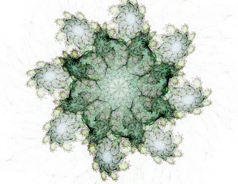 Abstrakte Fractalmuster und -formen Fractalbeschaffenheit Die Farben in der Reihe, fantastische Farbe Hintergrund besteht aus Fra stock abbildung