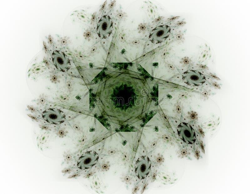 Abstrakte Fractalmuster und -formen Fractalbeschaffenheit Die Farben in der Reihe, fantastische Farbe Hintergrund besteht aus Fra vektor abbildung