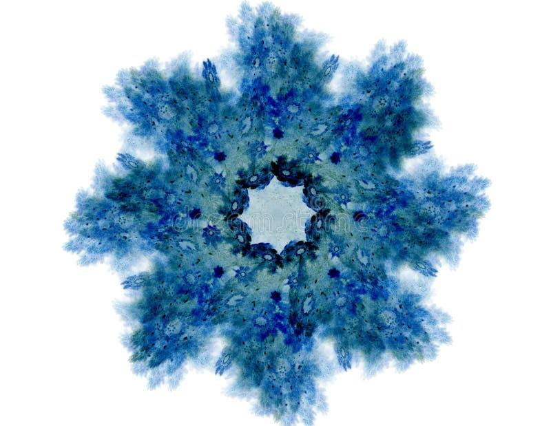 Abstrakte Fractalmuster und -formen Fractalbeschaffenheit f?r Drucke lizenzfreie abbildung