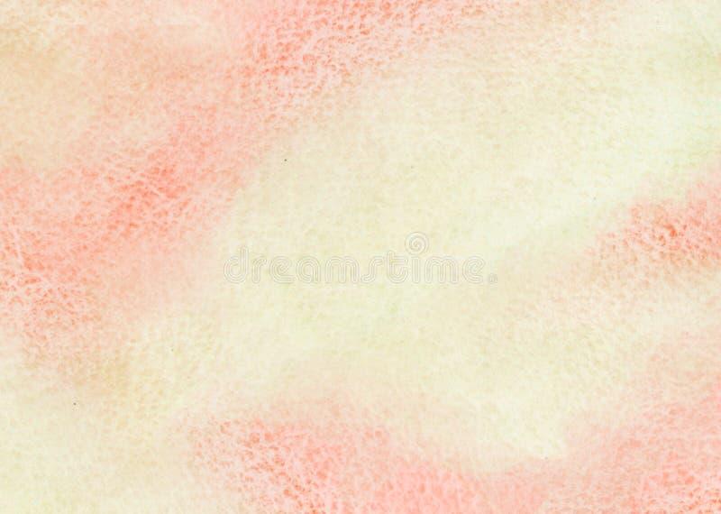 abstrakte gemalte, Papierhintergrundbeschaffenheit stock abbildung
