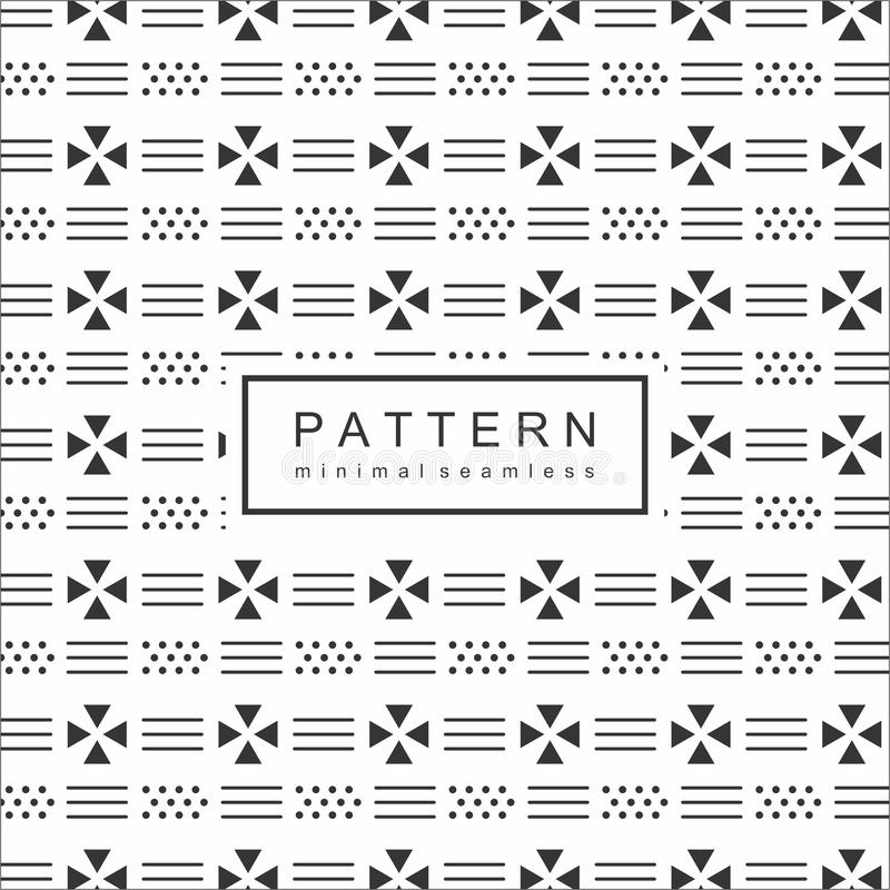 Abstrakte Geomatric-Linie Muster-Hintergrund lizenzfreie abbildung