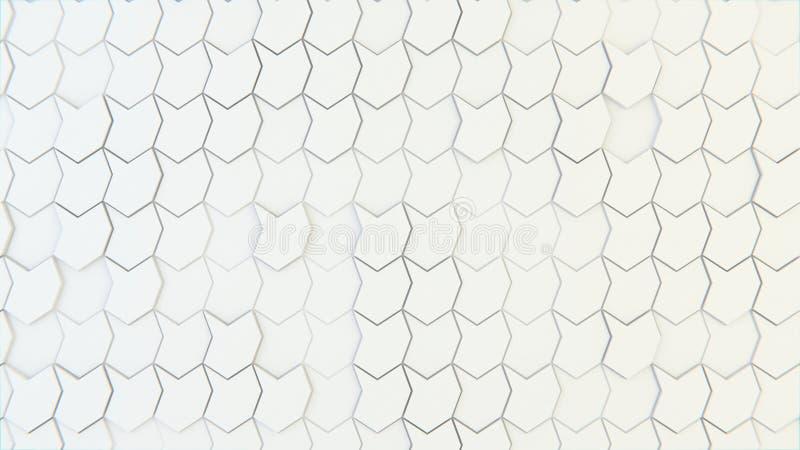 Abstrakte geometrische Beschaffenheit von nach dem Zufall verdrängten Polygonen stockbilder
