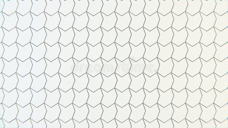 Abstrakte geometrische Beschaffenheit von nach dem Zufall verdrängten Polygonen lizenzfreies stockbild