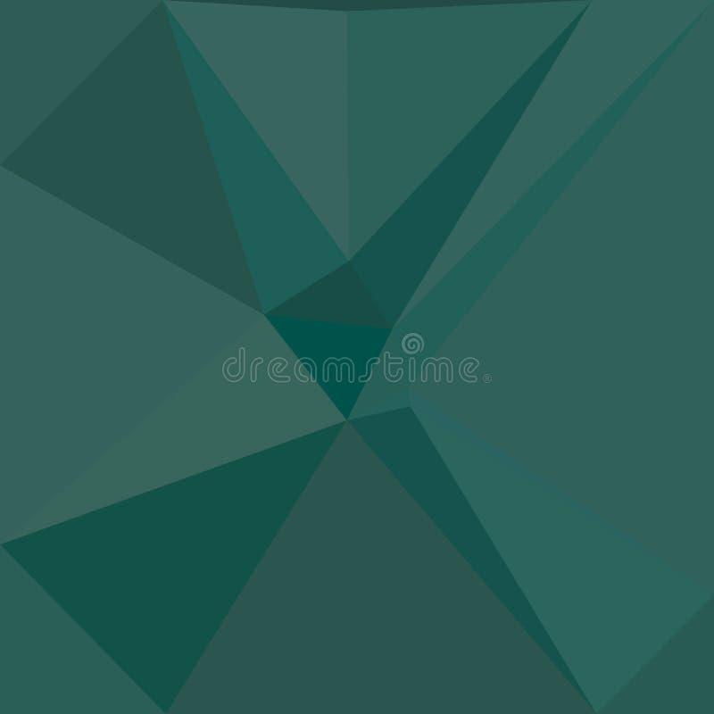 Abstrakte geometrische Dreieck lilas polygonale Knickente schattierte geziertes Muster, Triangulationseffekt-Papierfahne vektor abbildung