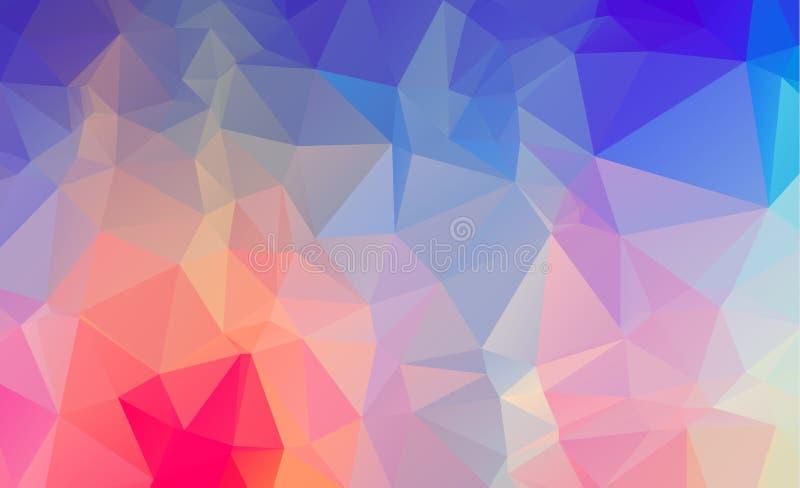 Abstrakte geometrische Hintergründe farbenreich vektor abbildung