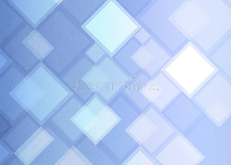 Abstrakte geometrische Quadrate und Rechtecke im hellpurpurnen Hintergrund stockbild