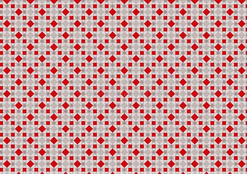 Abstrakte geometrische Raute Art Background Pattern Texture lizenzfreie abbildung