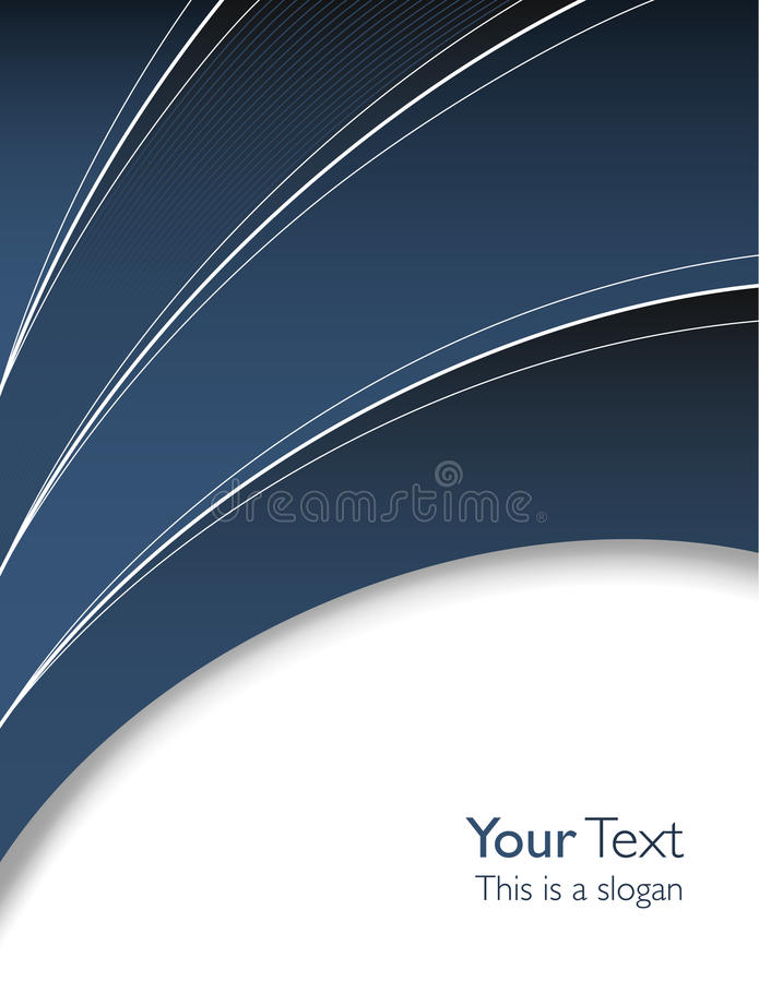 Abstrakte Geschäftsschablone vektor abbildung