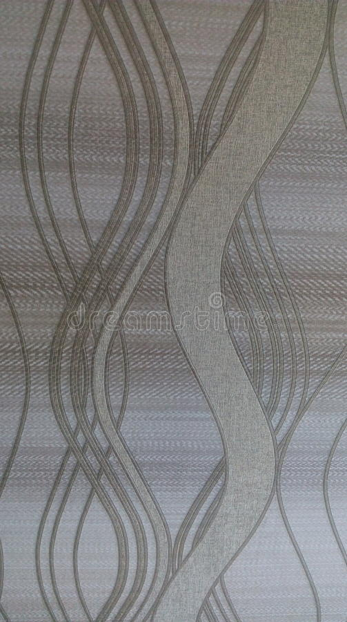 Abstrakte gewellte Tapetenkunstart stockbilder