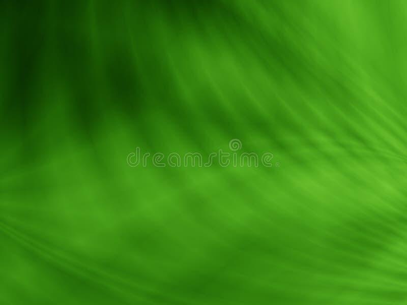 Abstrakte grüne Illustration des Blattbeschaffenheits-Hintergrundes lizenzfreie abbildung