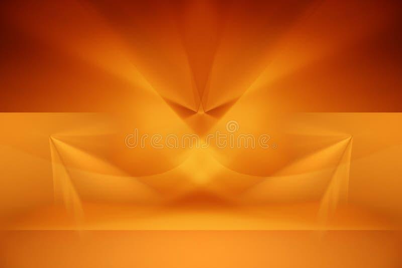 Abstrakte grafische Auslegung stock abbildung