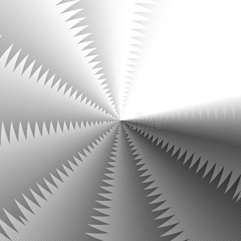 Abstrakte graue Farbgeometrischer Hintergrund, ines Ein nahtloser Vektorhintergrund lizenzfreie abbildung